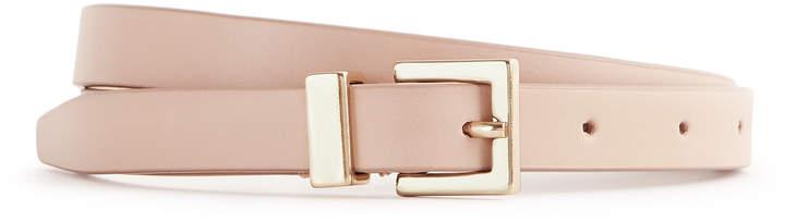 Reiss Blossom Leather Belt