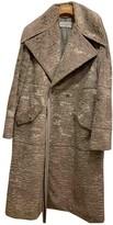 John Galliano Grey Faux fur Coat for Women