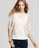 Top - Elvia Lace