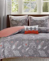 INK+IVY Kids Orbit Reversible 4-Pc. Quilted Full/Queen Coverlet Set
