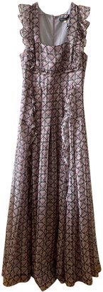 ALEXACHUNG Alexa Chung Anthracite Synthetic Dresses
