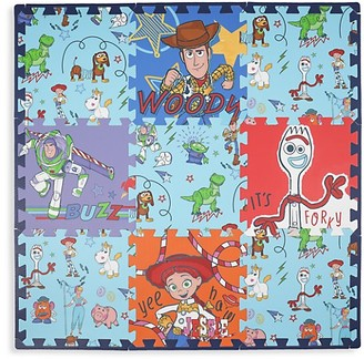 Capelli New York Kid's Disney Toy Story 4 9-Piece Flooring Mat Set