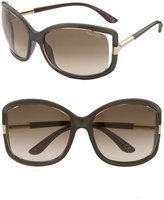 'Anais' Open Temple Sunglasses