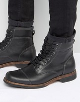 Aldo Swithbert Leather Laceup Boots
