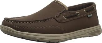Eastland Men's Brentwood Boat Shoe Gray 12 D