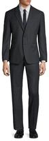 Paul Smith Wool Birdseye Tailored Fit Suit
