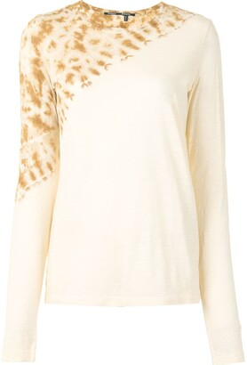 Proenza Schouler tie-dye long sleeve T-shirt