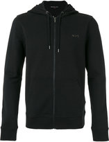 Michael Kors zip up hoodie - men - Cotton/Spandex/Elastane - L
