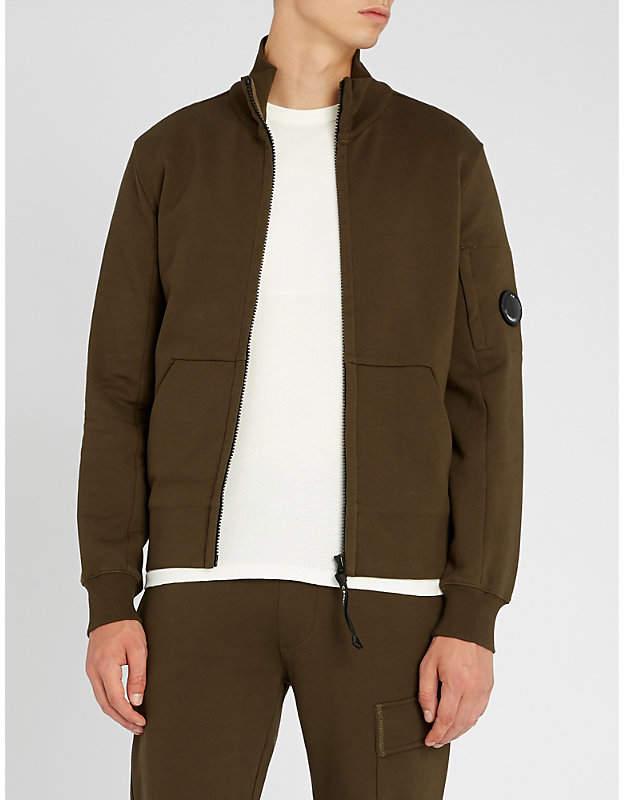C.P. Company Lens-detail cotton-jersey zip-through jacket