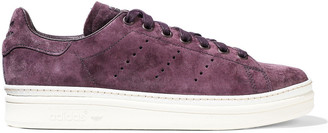 adidas Stan Smith New Bold Perforated Suede Sneakers