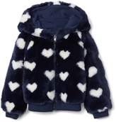 Gap Cozy heart zip hoodie