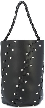 Proenza Schouler Medium Studded Hex Bucket Bag