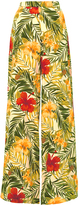 Miguelina Pamela High Rise Tropical Print Pants
