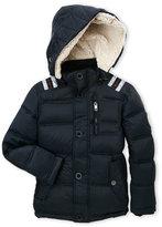 Diesel Boys 4-7) Hooded Quilted Down Jacket