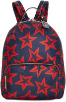Tommy Hilfiger Julia Smooth Star-Print Large Backpack