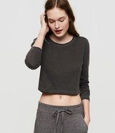 Lou & Grey Cropped Softserve Cotton Tee