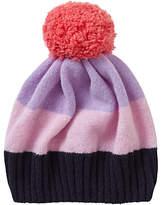 Jigsaw Children's Colour Block Hat, Purple/Pink