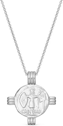Missoma Silver Lucy Williams Caesar Coin Necklace