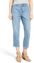 DL1961 Patti High Waist Crop Straight Leg Jeans (Ashland)
