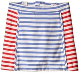 Kate Spade New York Kids Stripe A-Line Skirt (Toddler/Little Kids)