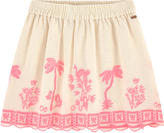 Scotch & Soda Embroidered skirt