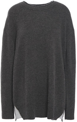 James Perse Cashmere And Jersey Sweater