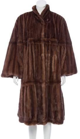 Giuliana Teso Vintage Mink Fur Coat