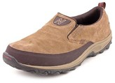 New Balance Mwm756 Round Toe Suede Loafer.