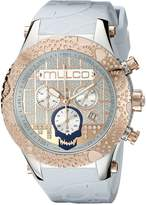 Mulco Men's MW5-2331-413 Couture Analog Display Swiss Quartz Watch