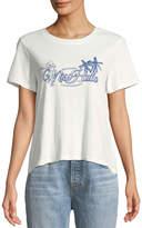 MinkPink Mink Pink Miss Hula Crop T-Shirt
