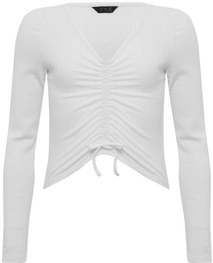 Thumbnail for your product : M&Co Teen ruched front top
