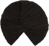 Miu Miu Ribbed wool and cashmere-blend turban