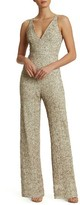 Dress the Population Women's Charlie Sequin Jumpsuit