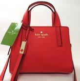 Kate Spade new york Grey Street Mini Dominique Pebbled Leather Crossbody Handbag in