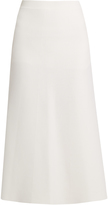 Calvin Klein Collection Dusty A-line wool skirt