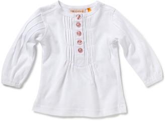 Noppies Girl's White T-Shirt Size 104 cm (4-5 Years)