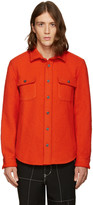 Noah Red Wool Teddy Shirt