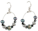 Honora As Is Cultured Fresh Freshwater Pearl & Crystal Earrings