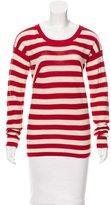 Sonia Rykiel Sonia by l Striped Long Sleeve Sweater