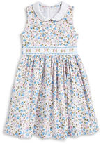 Iris & Ivy Girls 2-6x Floral Print Fit-and-Flare Dress