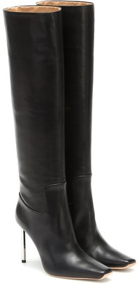 Off-White Allen knee-high leather boots