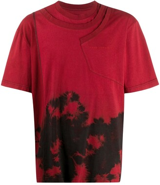 Feng Chen Wang abstract print T-shirt