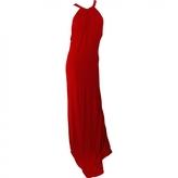Celine Red Viscose Dress