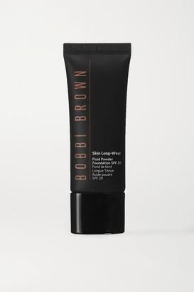 Bobbi Brown Skin Long-wear Fluid Powder Foundation Spf20 - Chestnut