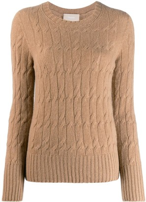 Drumohr Cable-Knit Sweater
