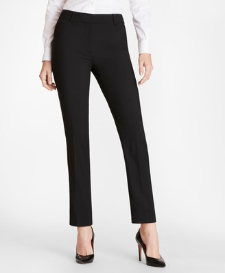 Brooks Brothers Slim-Fit Wool Pants