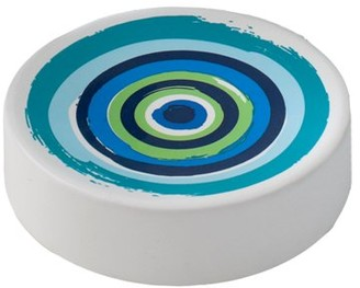 Splash Home Oblique Ceramic Soap Dish, 1 Each