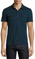 John Varvatos Pocket Polo Shirt
