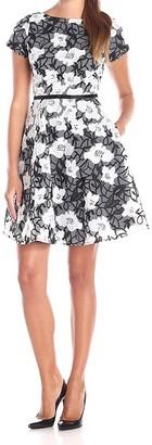 Erin Fetherston Erin Women's Sadie Floral Organza Flare Dress
