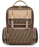 Fendi multi-pocket nylon backpack